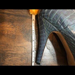 Vince Camuto Snake Skin Heels